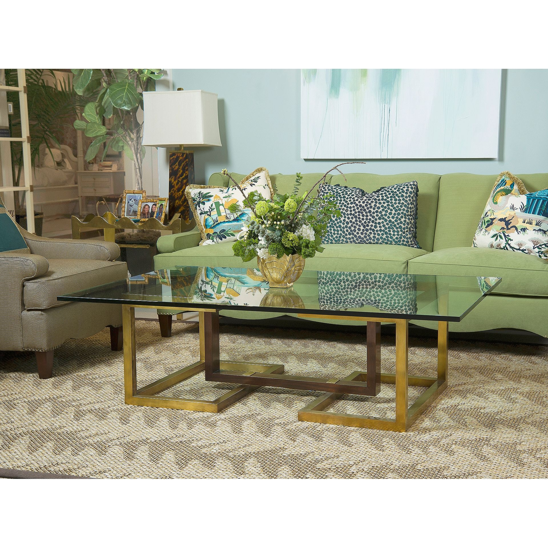 Henredon Furniture Celerie Kemble For Henredon Palm Beach Sofa H1304 C