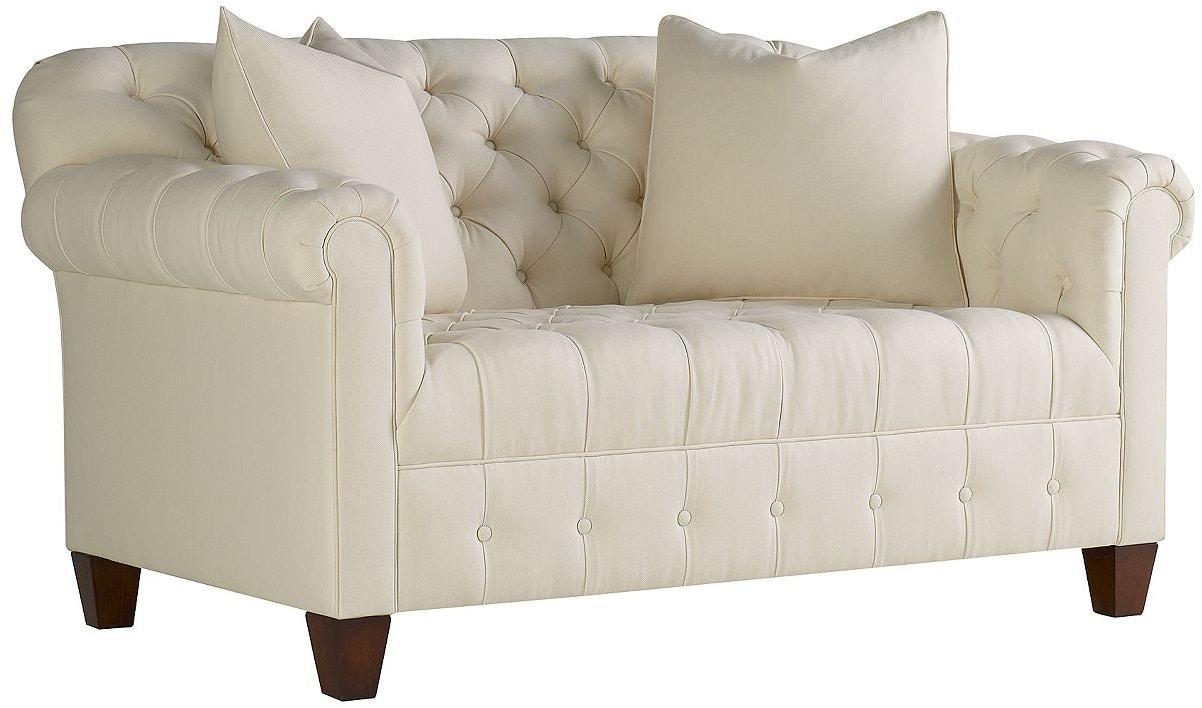 henredon furniture celerie kemble for henredon kristen settee h1309 - Celerie Kemble Furniture