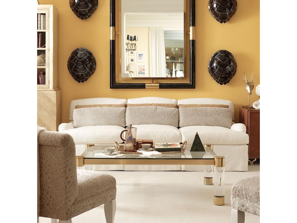henredon furniture celerie kemble for henredon fowler sofa h1408 c - Celerie Kemble Furniture