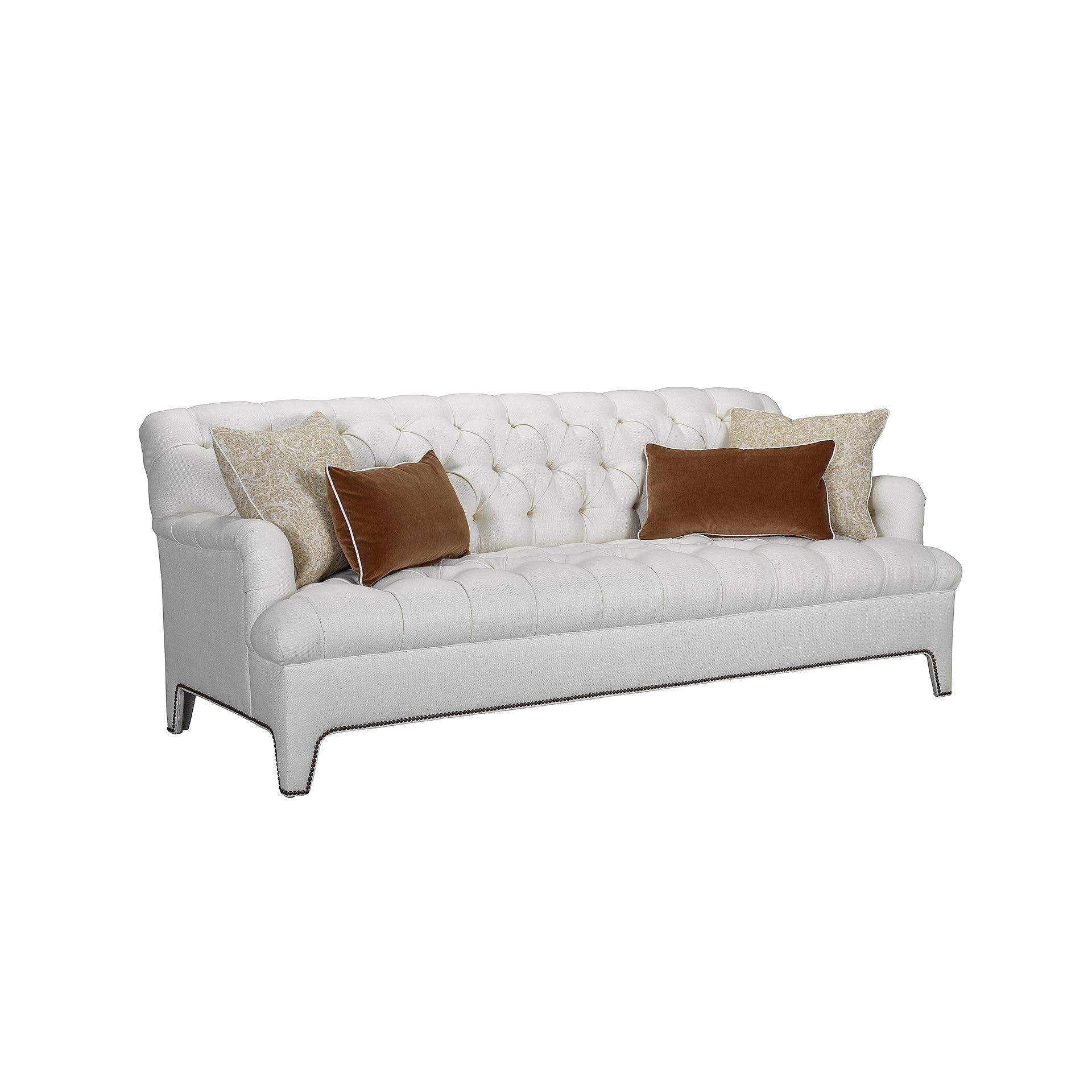 Henredon Furniture Mark D. Sikes Beverly Tufted Sofa H1655 C