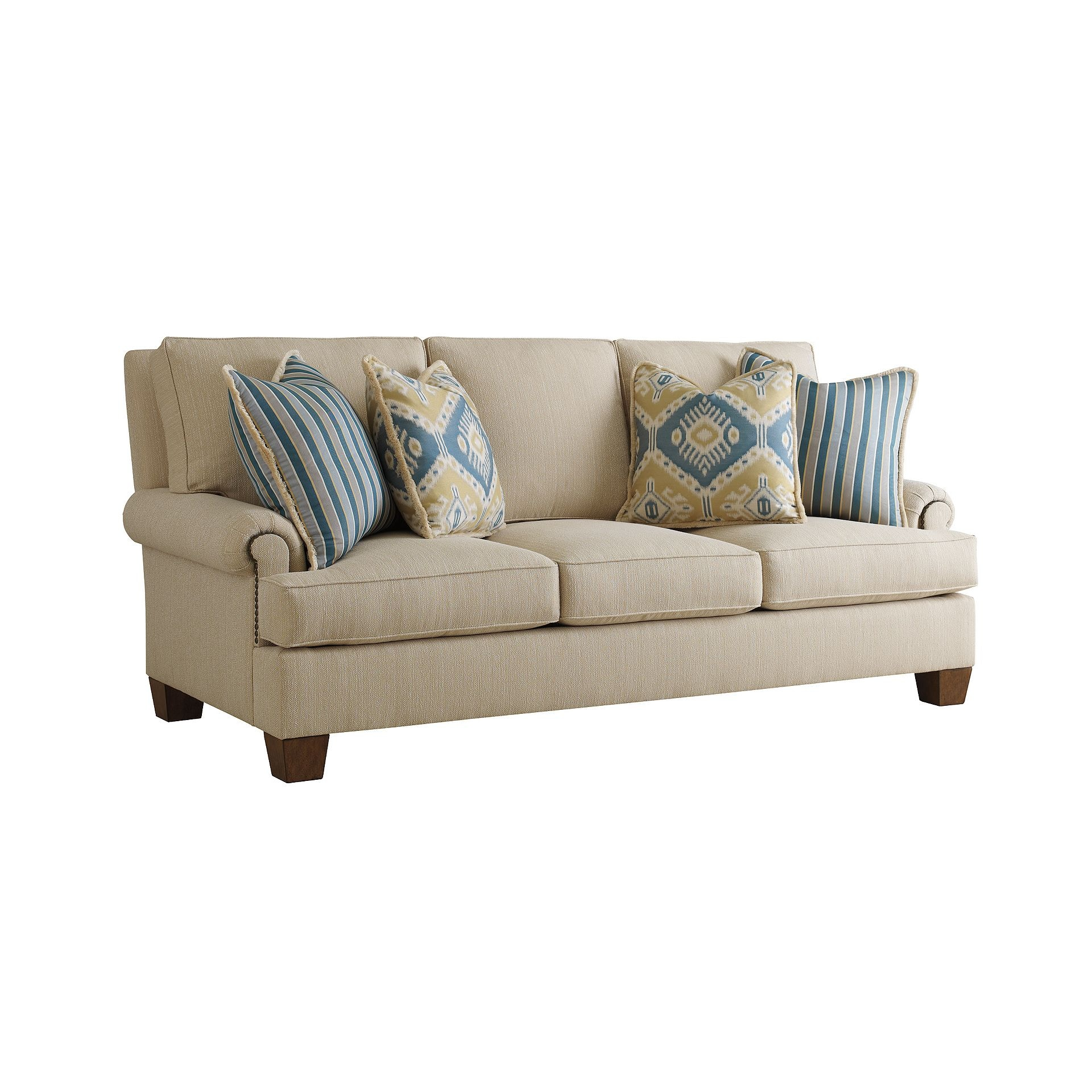 Henredon Furniture Fireside Custom Upholstery Fireside Sofa H2000C