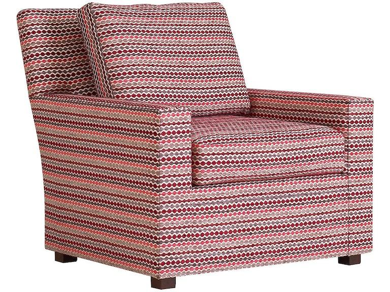 Henredon Furniture H7700-Chair-3 Living Room Refinements Custom ...