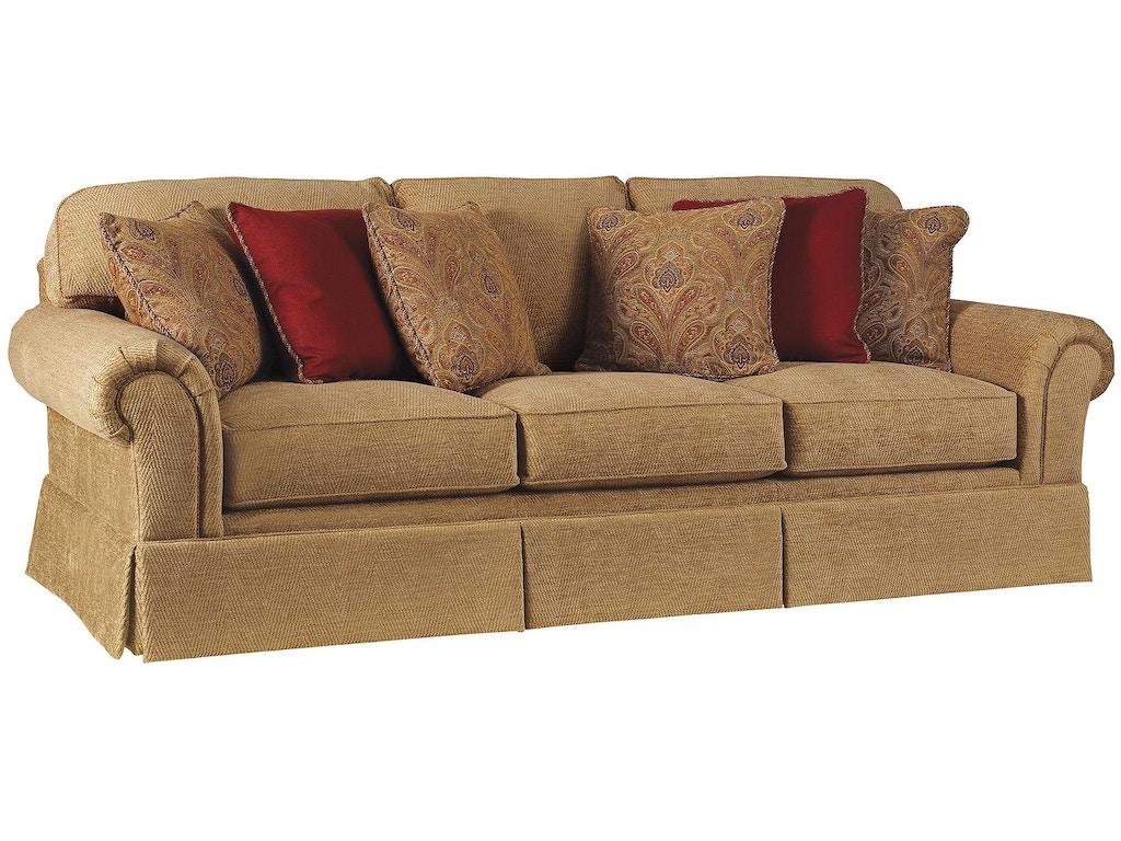 Henredon furniture h9500 c sofa 1 living room fireside for H furniture ww chair