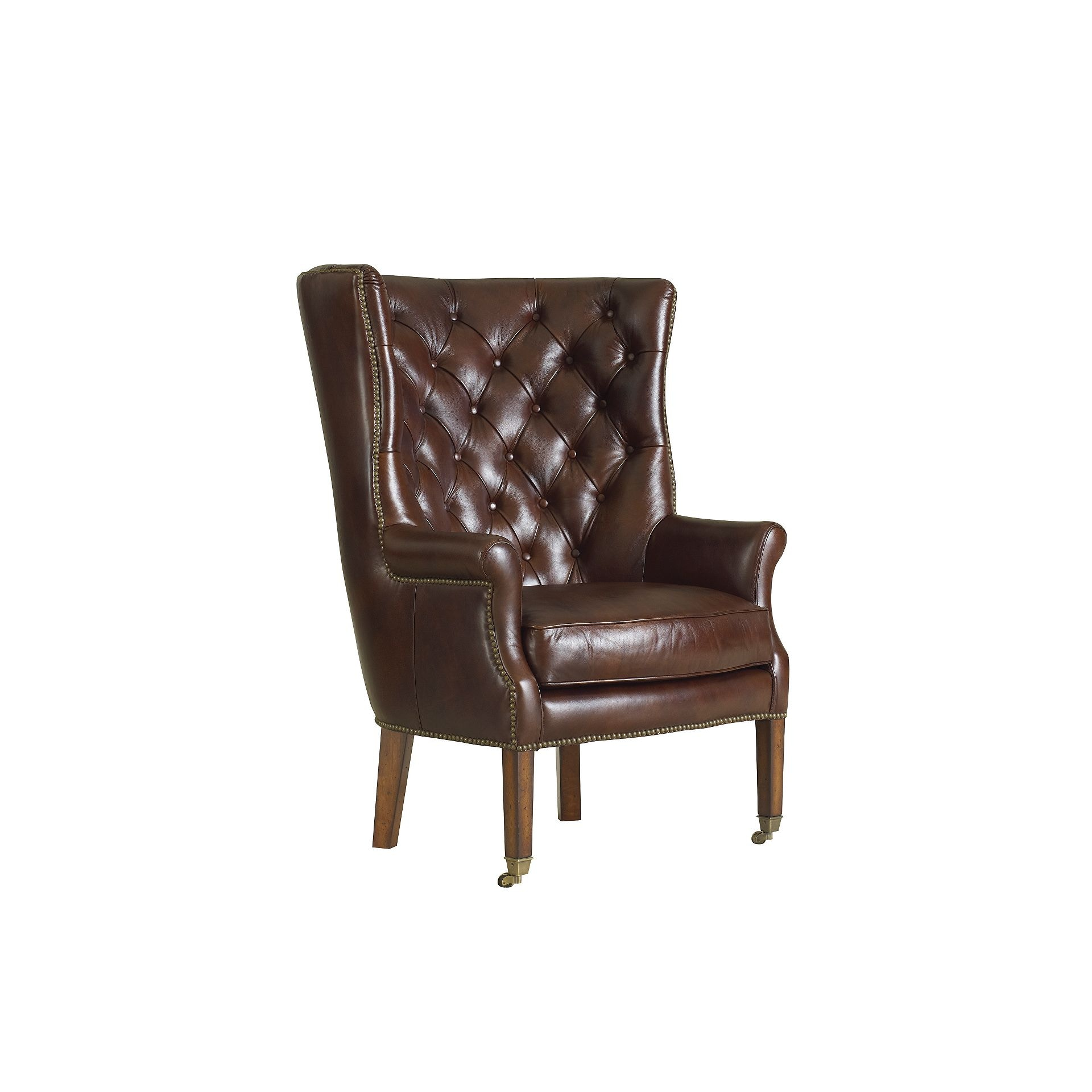 Henredon Furniture Henredon Leather Company Griffin Chair IL8410