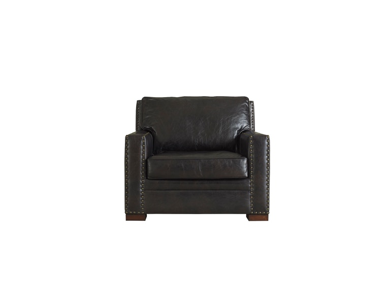 Henredon Furniture Living Room Henredon Leather Company Canyon Chair Il8610