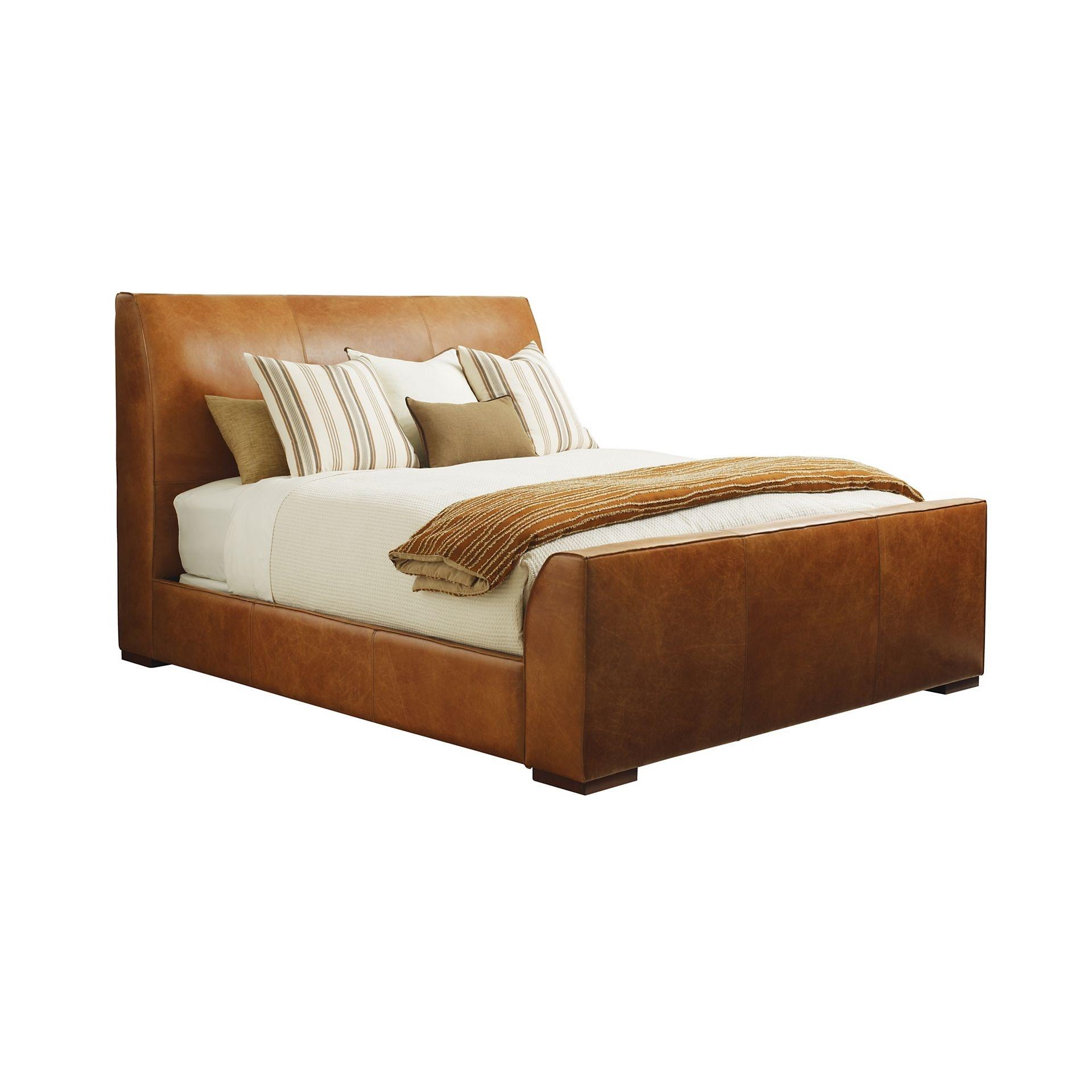 Henredon Furniture Henredon Leather Company Garrow Bed, 6/6 (King) IL8866