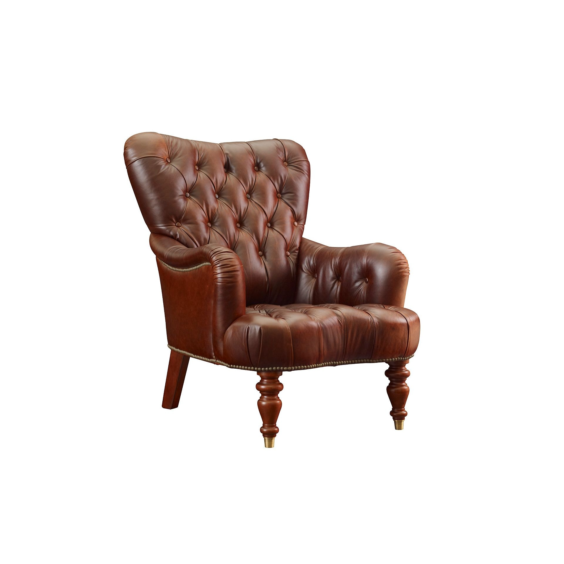 Henredon Furniture Henredon Leather Company Hamana Chair IL8869