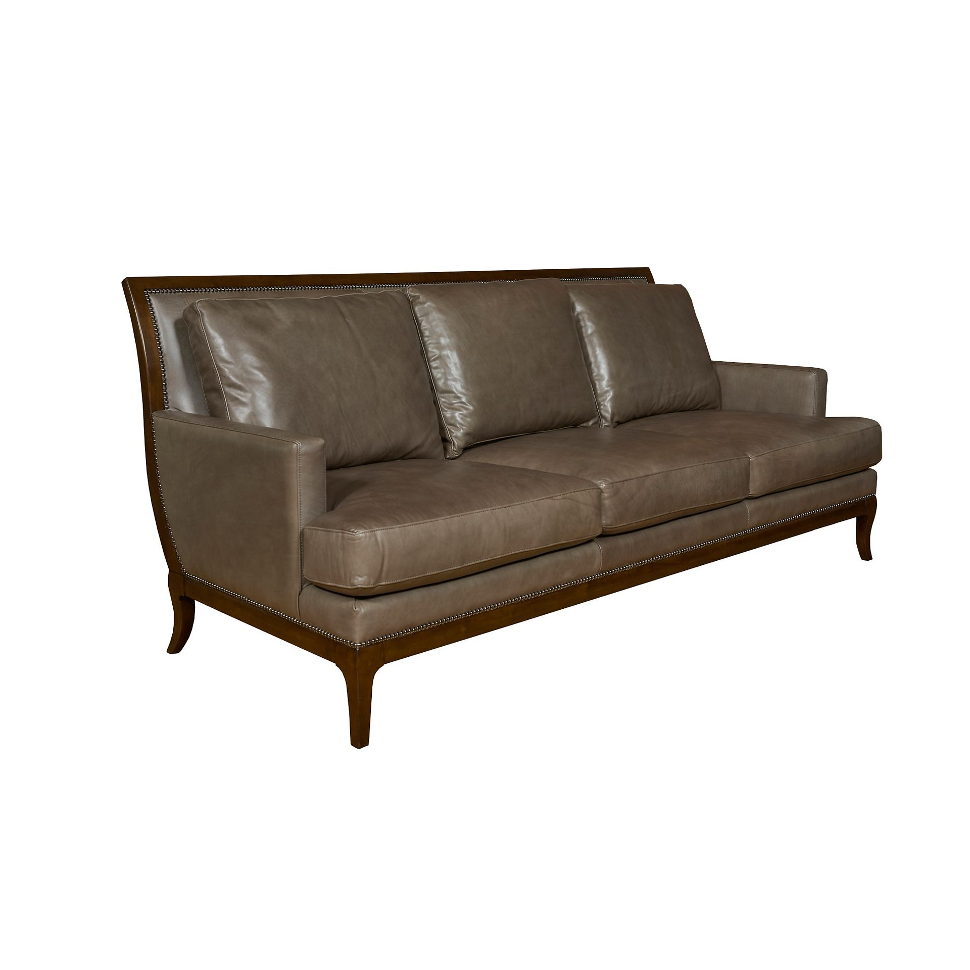 Henredon Furniture Henredon Leather Company Harveys Sofa IL8870 C