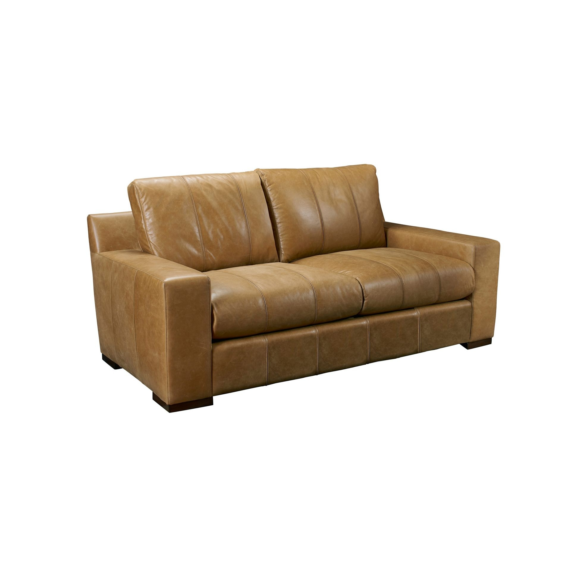 Henredon Furniture Henredon Leather Company Aubin Sofa IL8875 B