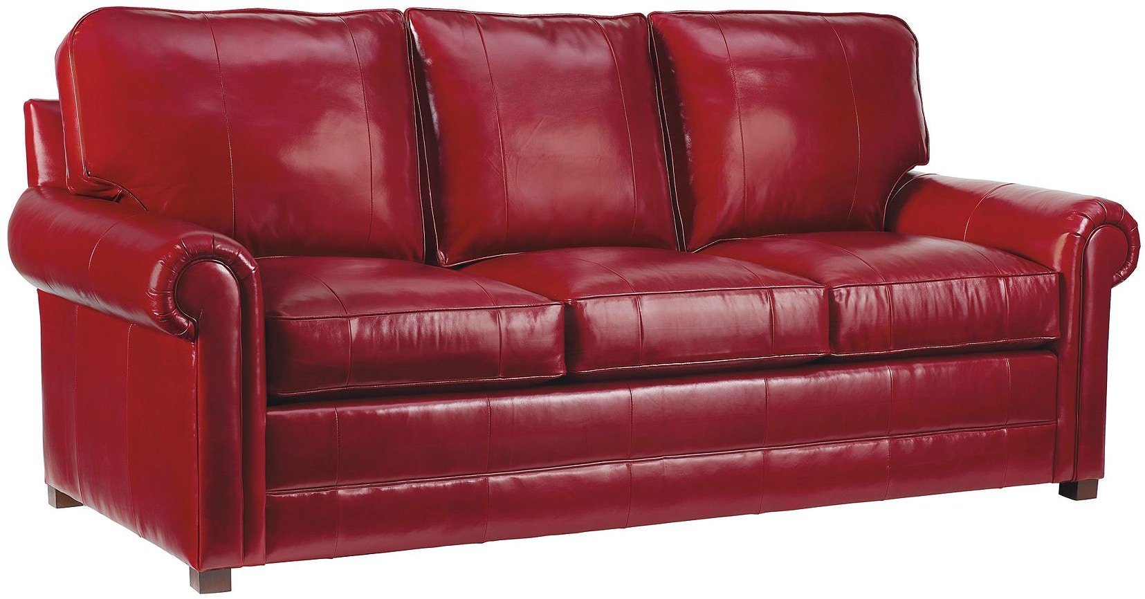 Henredon Furniture L4700 C Sofa 1 Living Room Fireside Custom Upholstery Fireside Sofa
