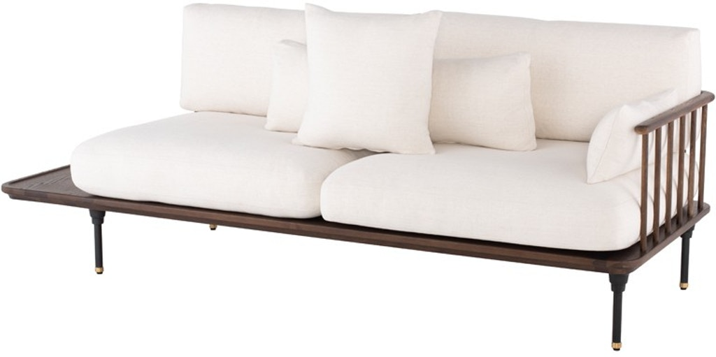 Terrific Nuevo Furniture Hgda619 Living Room Distrikt Triple Seat Sofa Lamtechconsult Wood Chair Design Ideas Lamtechconsultcom
