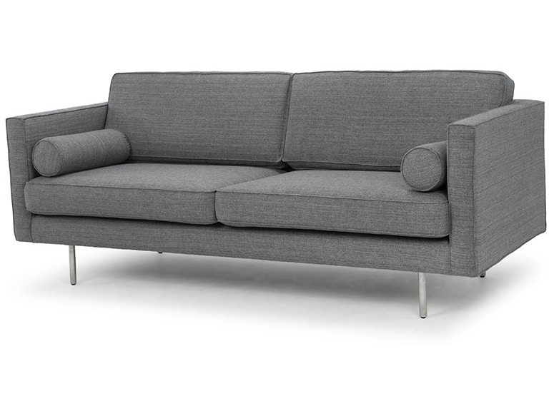 Admirable Nuevo Furniture Hgsc195 Living Room Cyrus Sofa In Grey Tweed Lamtechconsult Wood Chair Design Ideas Lamtechconsultcom