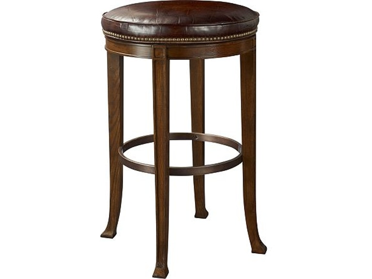 hickory chair furniture 138 04 dining room newbury swivel bar stool