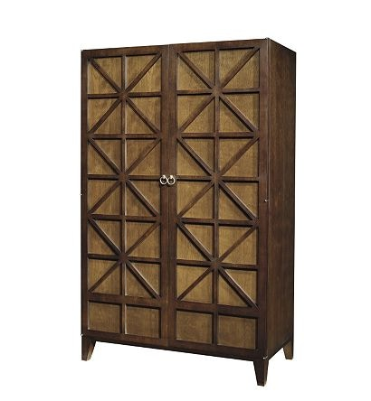 Beau Hickory Chair Furniture CLEO ARMOIRE/ENTERTAINMENT CABINET 9874 10