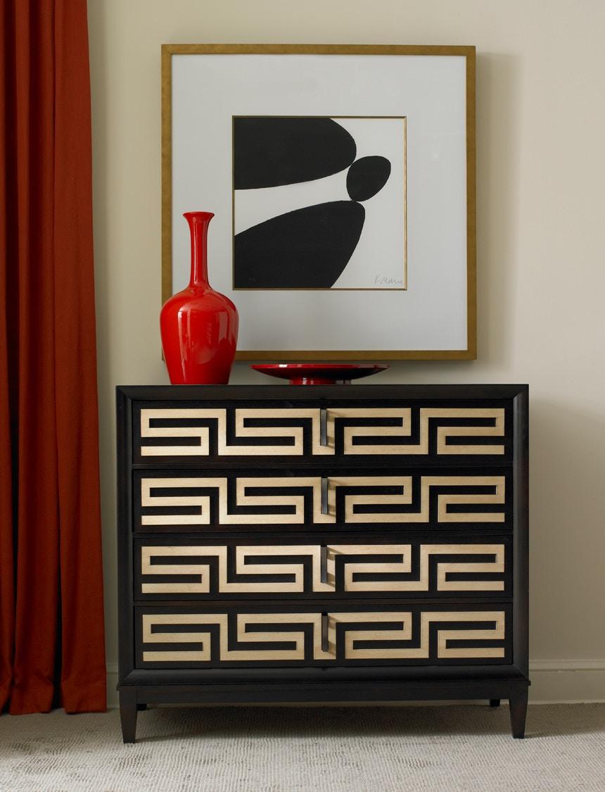 Hickory White Furniture Greek Key Chest 245 61