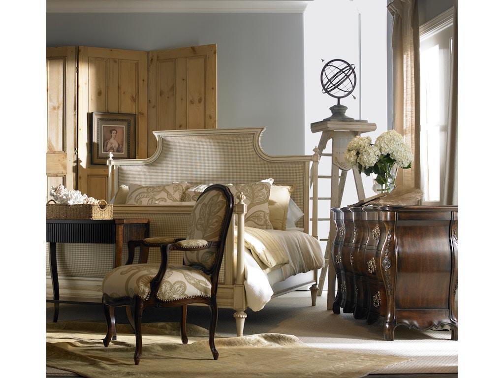 Hickory White Furniture Bedroom King Upholstered Panel Bed -  hickory bedroom furniture
