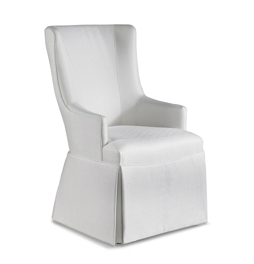 Superieur Hickory White Furniture Brooklyn Skirted Host Chair 391 65X