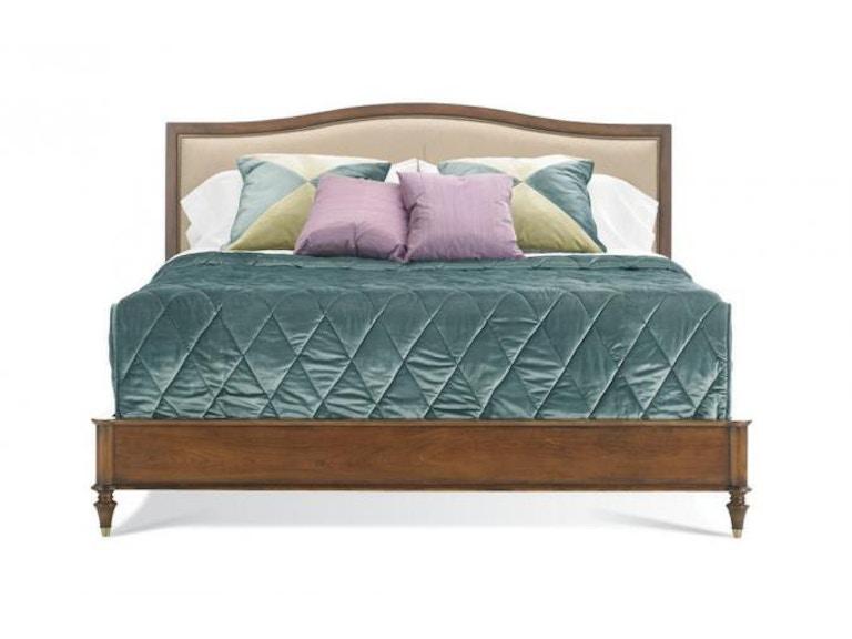 Hickory White Furniture 425-22 Bedroom King Upholstered Panel Bed