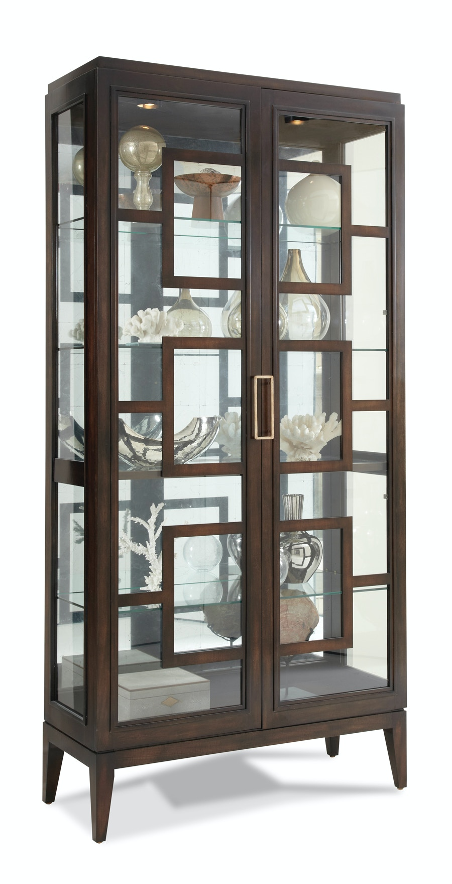 Hickory White Furniture Rhodes Curio Cabinet 440 41