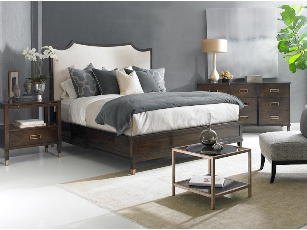 Hickory White Furniture Bedroom Ashleigh King Upholstered Bed -  hickory bedroom furniture