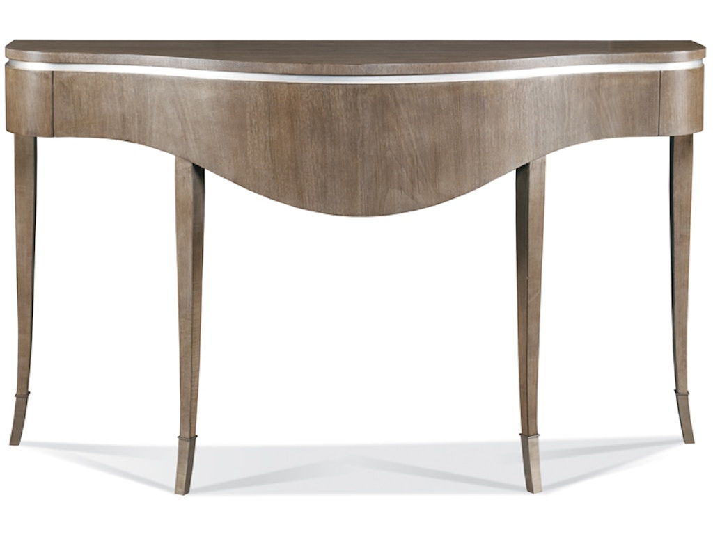 Hickory white furniture 533 31 living room console table for Home goods white furniture