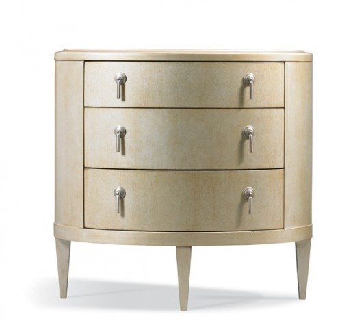 Hickory White Furniture Oval Bedside Table 535 73