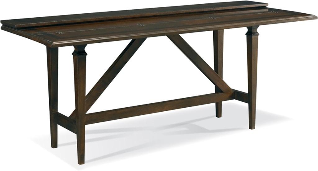 Hickory White Furniture Drake Flip Top Console Table 583 31