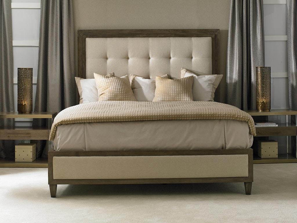 Hickory White Furniture Bedroom Lenore King Upholstered