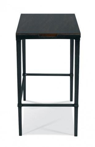 Hickory White Furniture Bailey Rectangular Side Table   Slate 903 27S E3