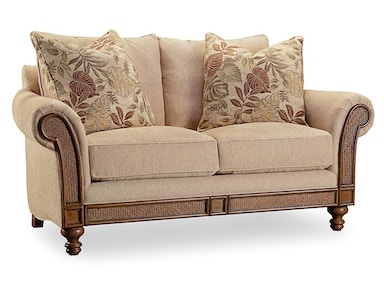 Hooker Furniture Windward Dart Honey Loveseat 1125-52014