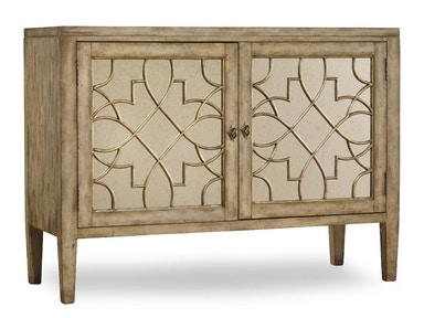 Hooker Furniture Sanctuary Two-Door Mirrored Console - Surf-Visage 3013-85002