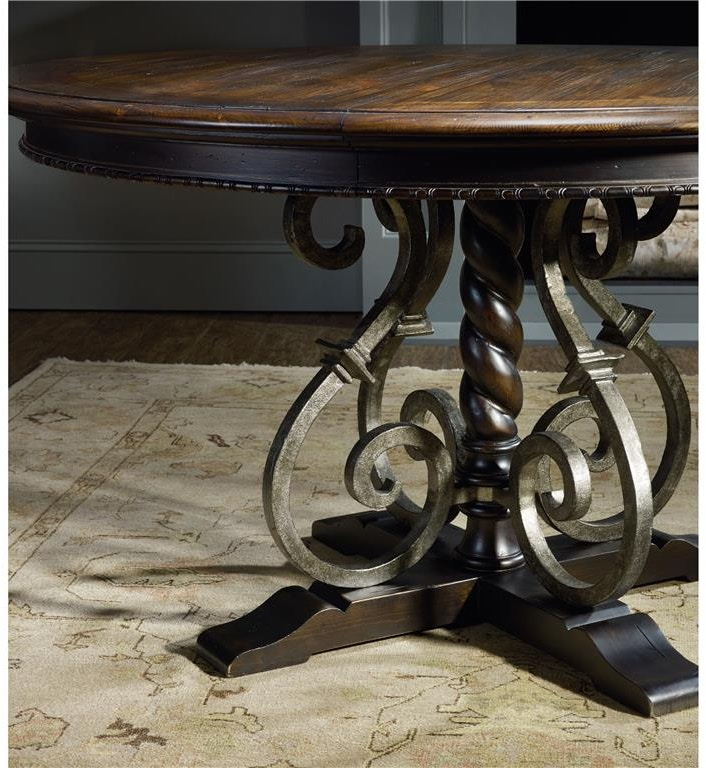Hooker Furniture 5374 Dining Room Treviso Round Dining Table