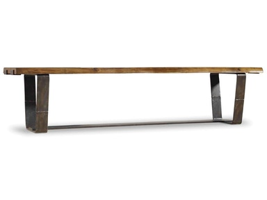 Hooker Furniture Live Edge Bench 5590-75315-DKW