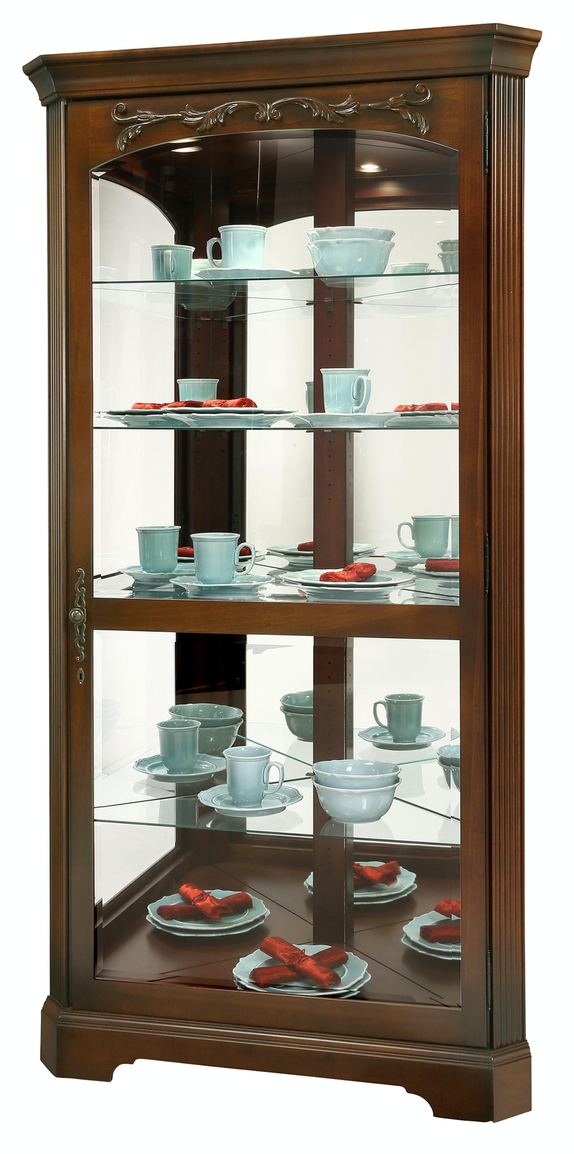 Howard Miller Tessa Curio Cabinet 680 605