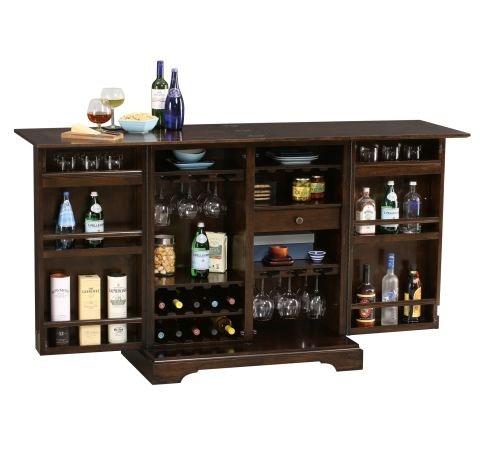 Howard Miller Benmore Valley Wine Cabinet Bar 695 124