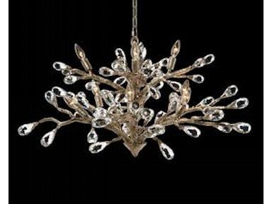 John richard chandeliers goods home furnishings north carolina ajc 8850 budding crystal chandelier ajc 8850 john richard aloadofball Choice Image