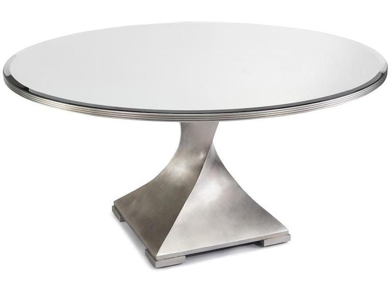 John Richard Eur Dining Room Circular Dining Table With A - Circular dining table with extension