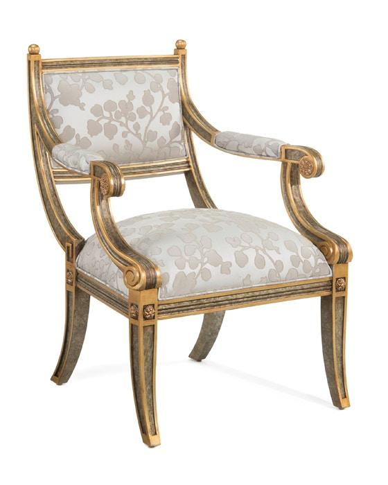 John Richard Empire Style Arm Chair AMF 1008V10 1033 AS