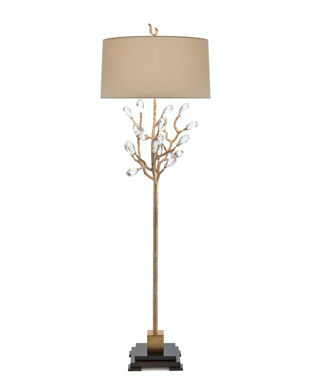 john richard lighting. John Richard 74 Budding Crystal Floor Lamp JRL-8981 Lighting