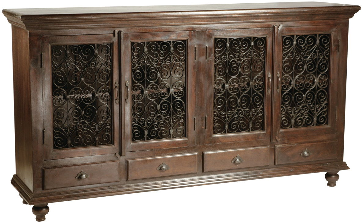 Dovetail furniture k13 dining room montecito sideboard for Dovetail furniture