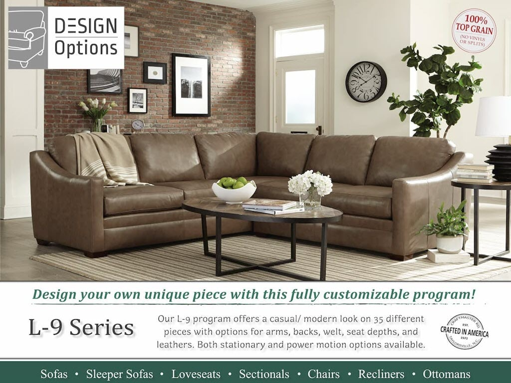 Craftmaster Custom L9 Series Living Room Design Your Own Program