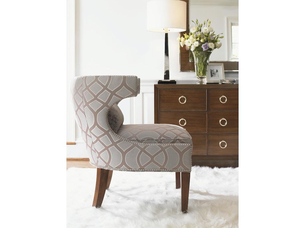 Lexington furniture 7110 11 living room mirage greta chair for Lexington furniture