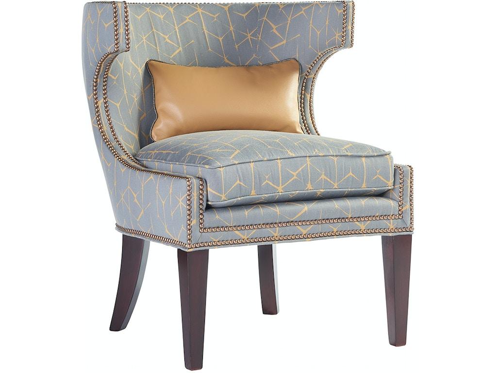 Lexington furniture living room mirage greta chair 7110 11 for Lexington furniture