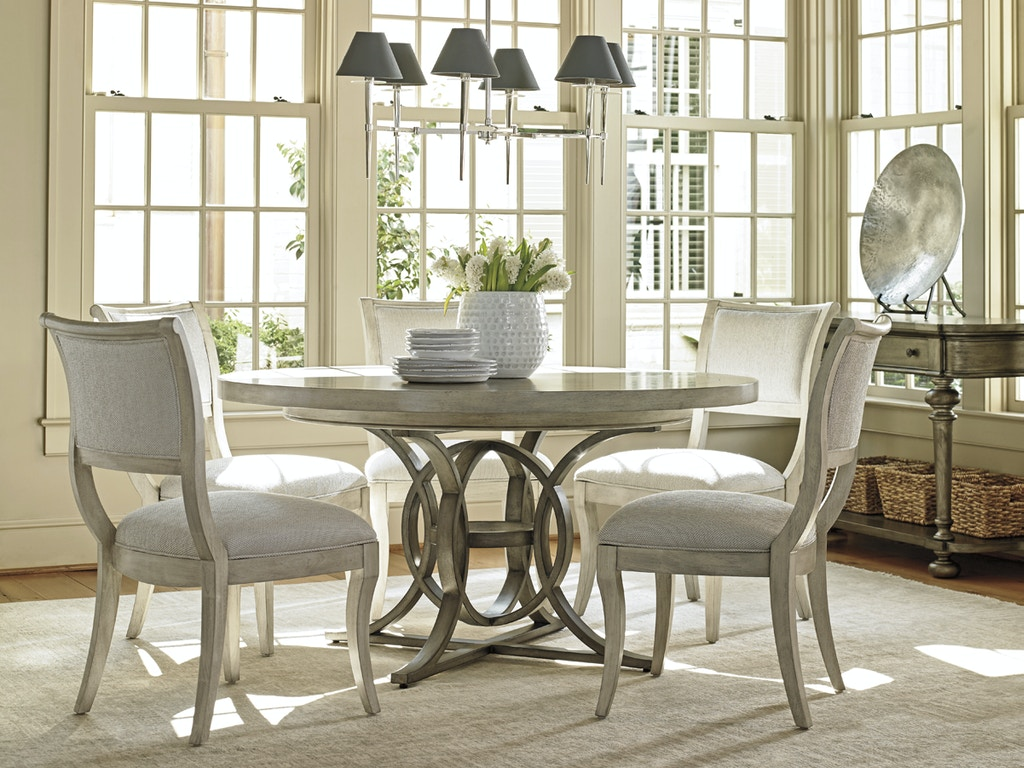 Lexington furniture dining room oyster bay calerton round for Lexington furniture