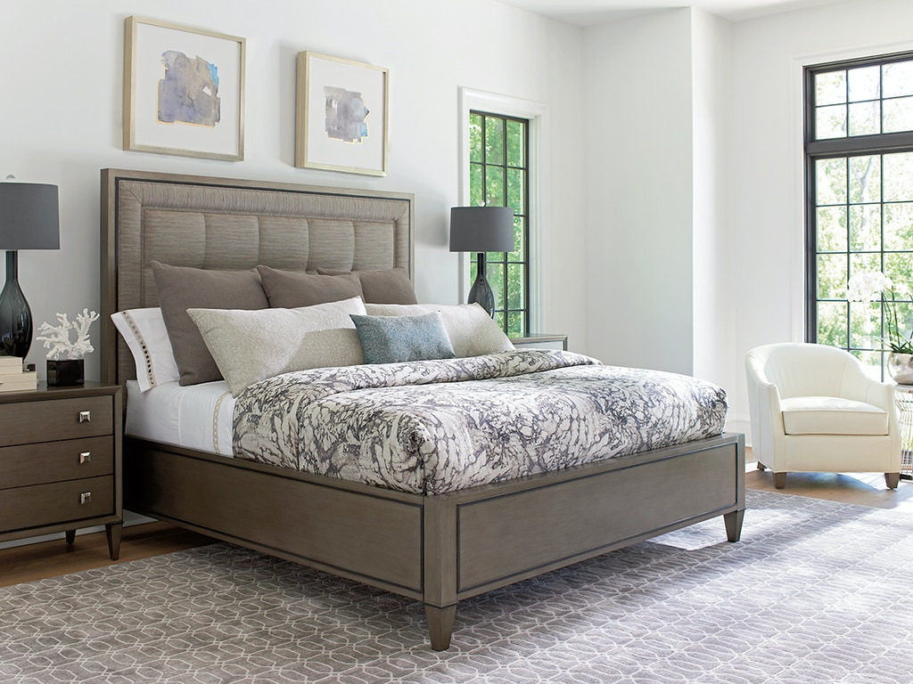 Lexington Furniture 732-134C Bedroom Ariana St. Tropez Upholstered ...