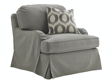 Lexington Furniture Kensington Place Stowe Slipcover Chair - Gray 7476-11GY