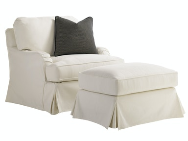Lexington Furniture Coventry Hills Stowe Slipcover Chair - Cream 7476-11CR