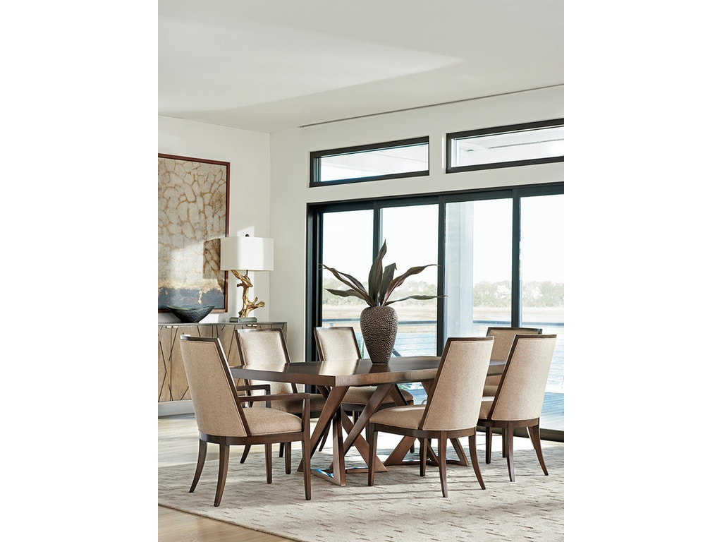 Lexington furniture 790 876c dining room zavala loggia for Lexington furniture