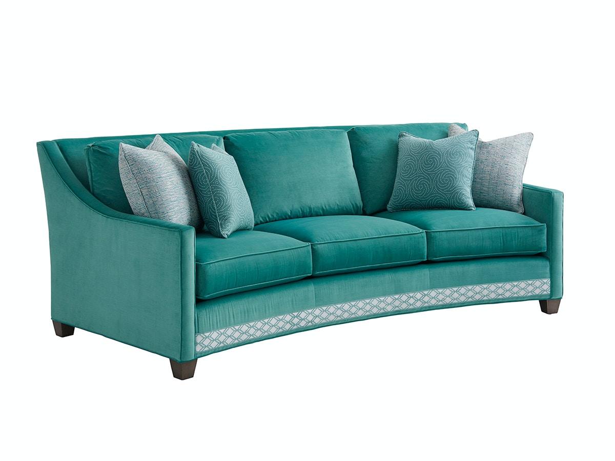 Lexington Furniture Ariana Valenza Curved Sofa 7931 33