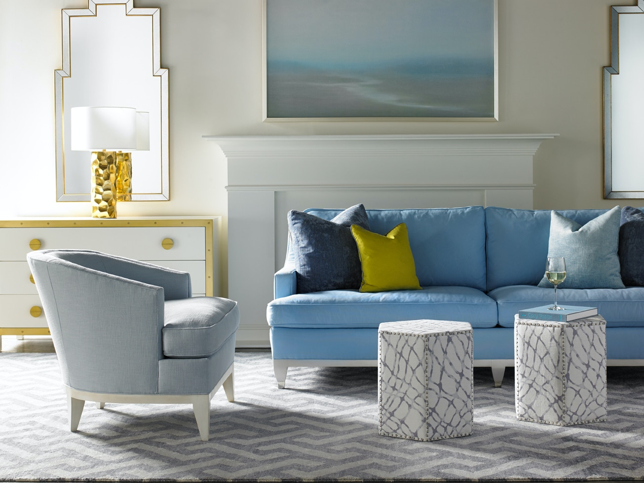 Beau Lillian August Furniture Drake Sofa LA7142S